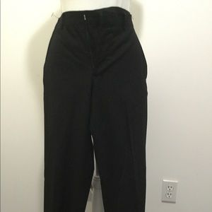 Men's Dress Slacks- Black- Size 32x30 Slim